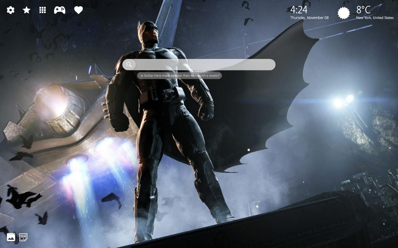 Arkham Knight background