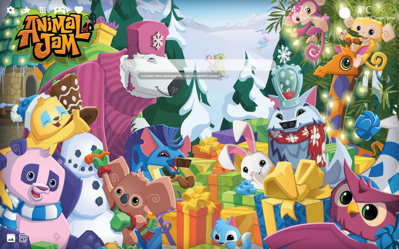 Animal Jam Background
